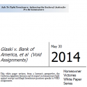 Glaski v Bank of America - Homeowner Victory Paper